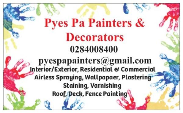 Pyes pa painters and decorators