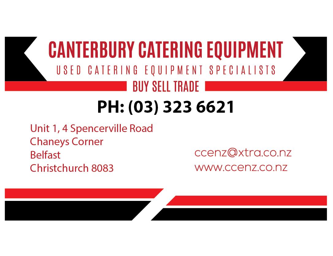 Canterbury Catering Equipment