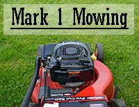 Mark 1 Mowing