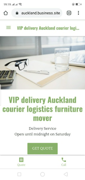 delivery Auckland truck logistics furniture