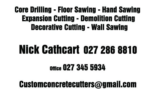 Custom Concrete Cutters Limited