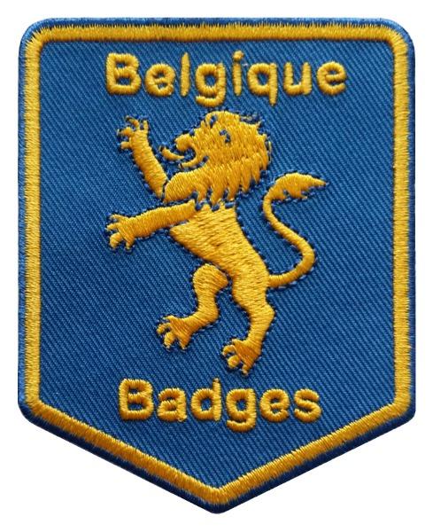 Belgique Badges