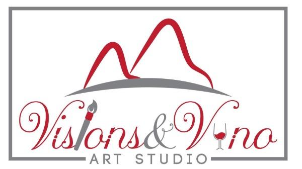 Visions and Vino - Art Studio & Gallery