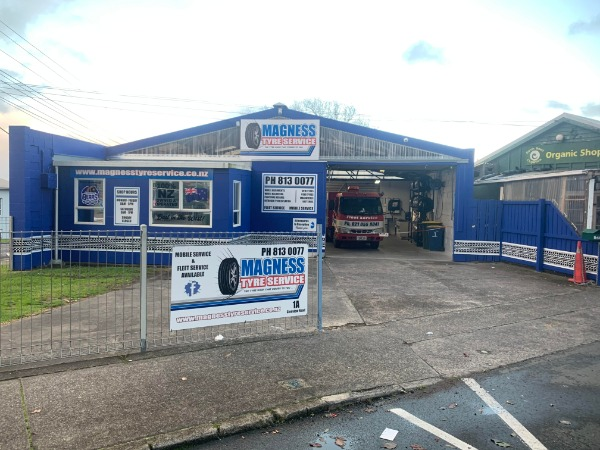 MAGNESS TYRE SERVICE LIMITED