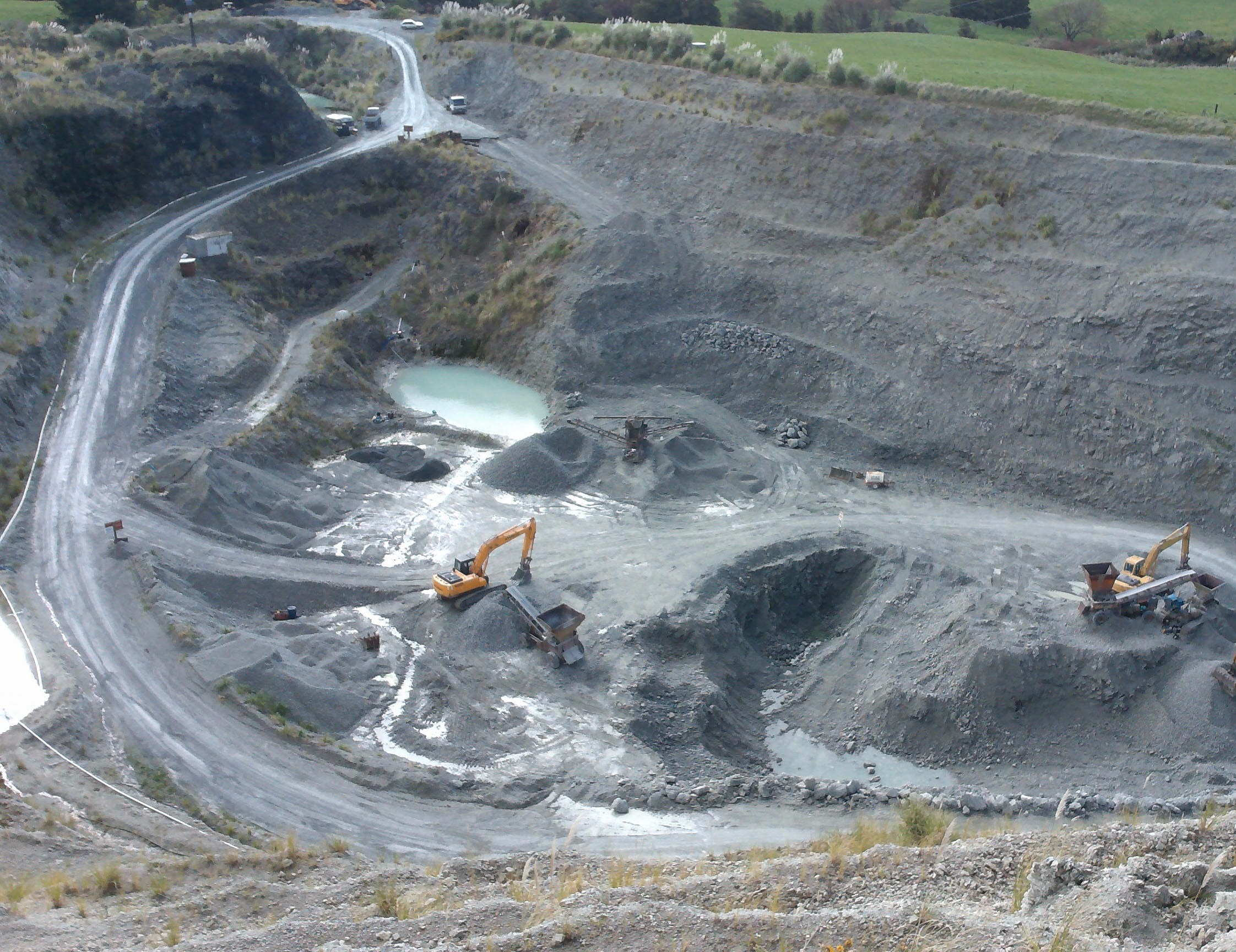 Silver Hill Quarry