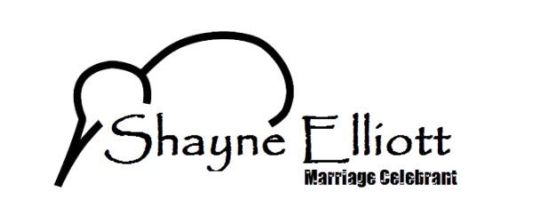 Shayne Elliott - Wedding Celebrant