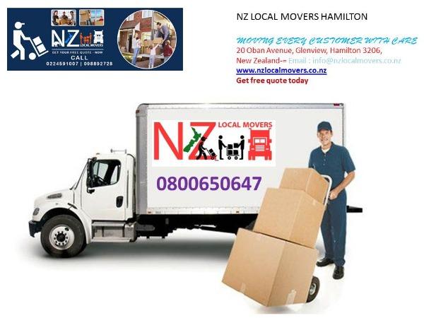 Nz Local Movers Hamilton