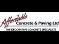 Affordable Concrete & Paving